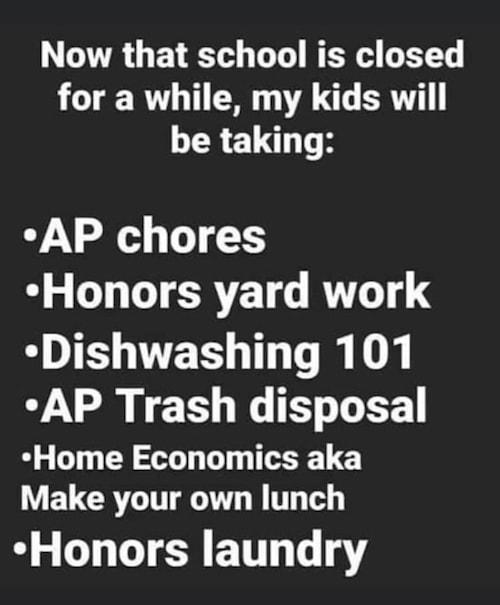 homeschool fails meme