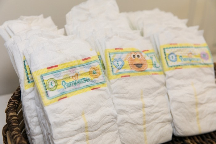 stack of diapers diaper changes