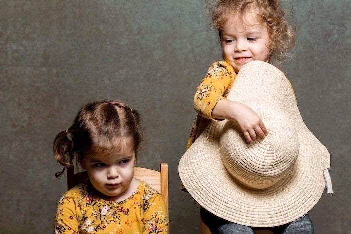 twin toddler girls