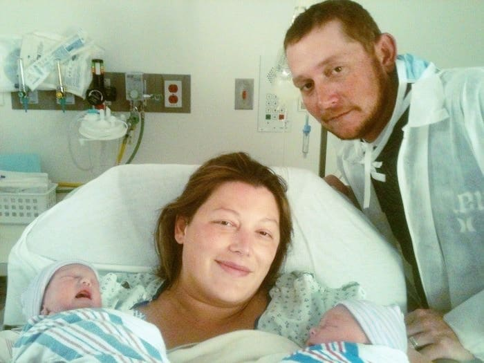 new parents of twins