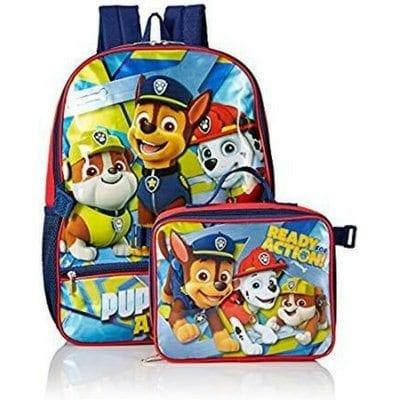 school backpacks paw patrol backpack and lunchbox