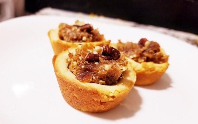 pecan cookie tarts grain-free desserts