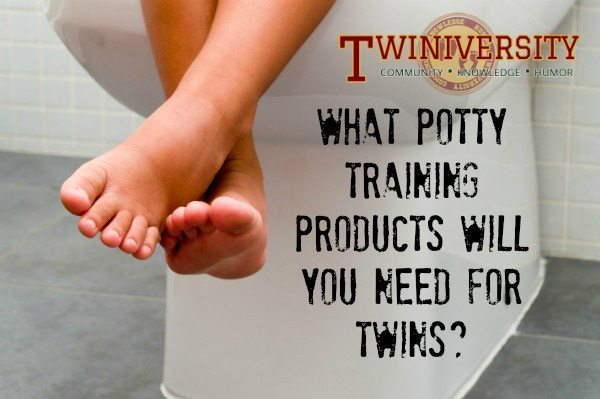 What Potty Training Products Will You Need For Twins?