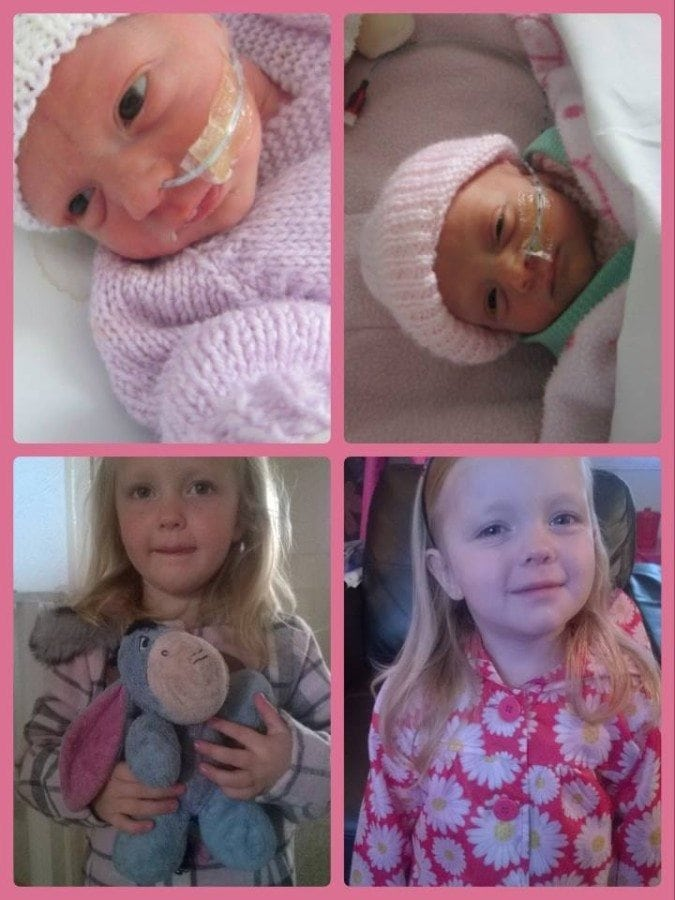 My ID girls were born at 32 weeks, spent 23 days in NICU. They're now healthy 3 year olds!