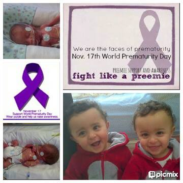 My boys born @ 30 weeks due to twin to twin transfusion syndrome. Twin A-1.1kg (32days in the NICU) & Twin B-965 grams (45 days in the NICU) today they are healthy 14month old busy boys. preemie twins
