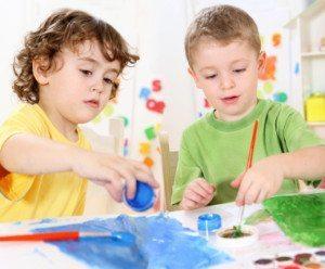 choosing preschool twins