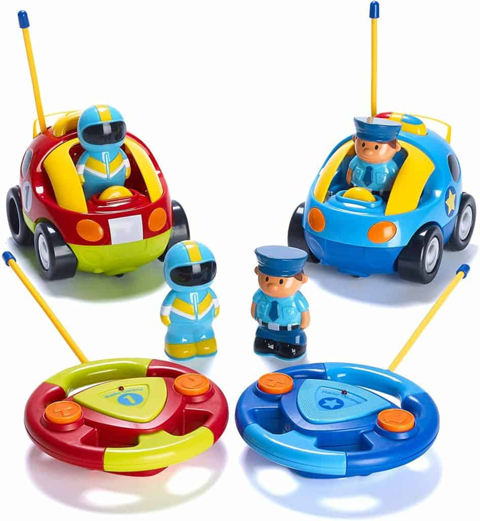 remote control race cars toys that twins can share