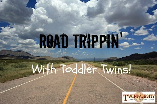 Road Trippin' with Toddler Twins