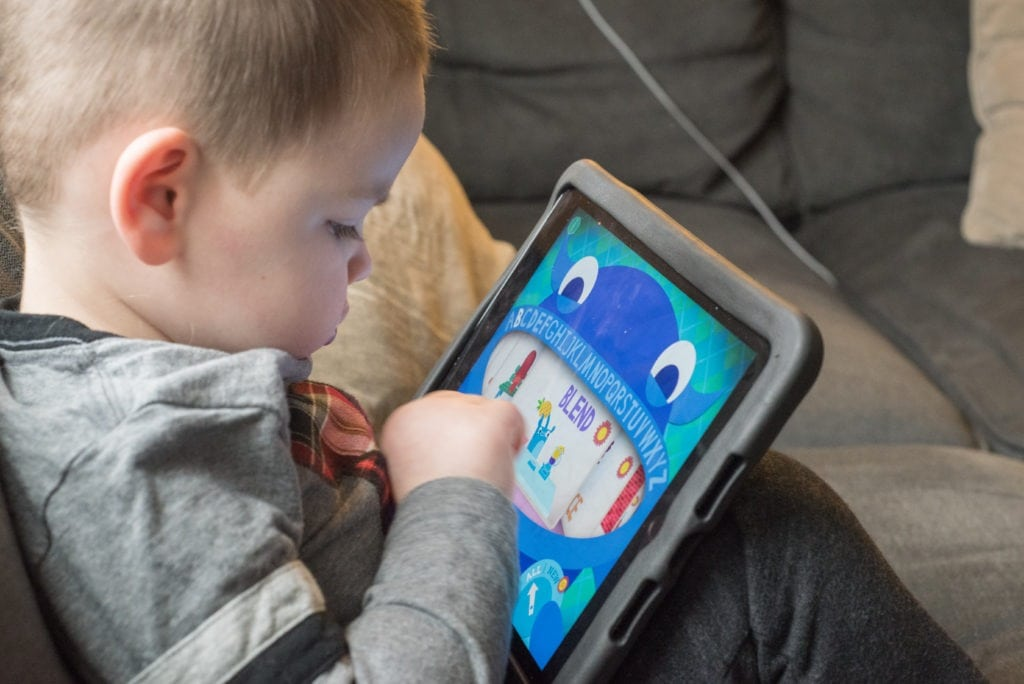 boy playing game Apps for Ages 2-6