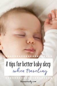 8 tips for better sleep when traveling with kids