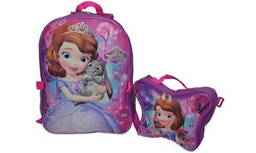 school backpacks sofia the first backpack