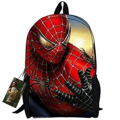 school backpacks spider-man backpack