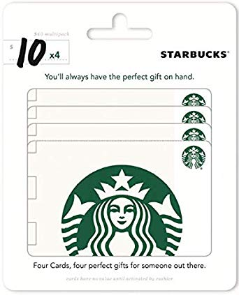 starbucks gift card stocking stuffers for kids