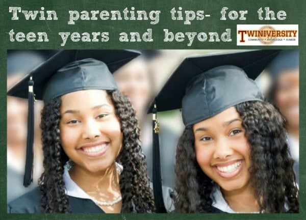 twins teens college