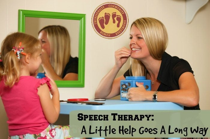 Speech Therapy: A Little Help Goes A Long Way