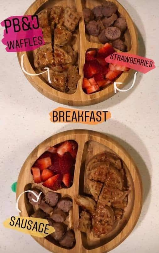 toddler lunch ideas breakfast plates