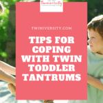 Tips for coping with toddler tantrums