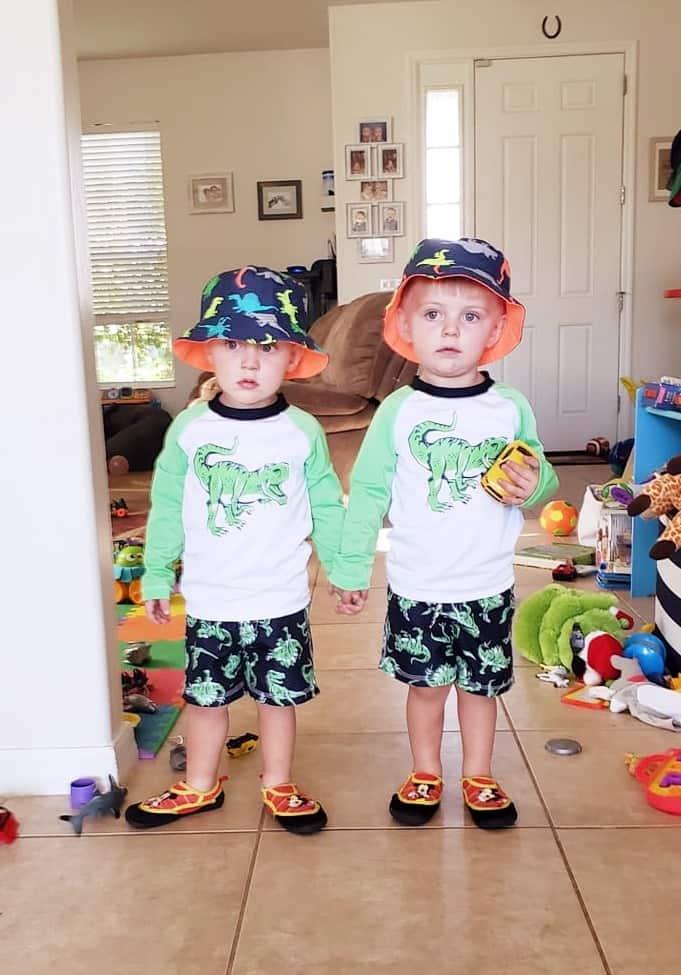 twin boy toddlers love having twins