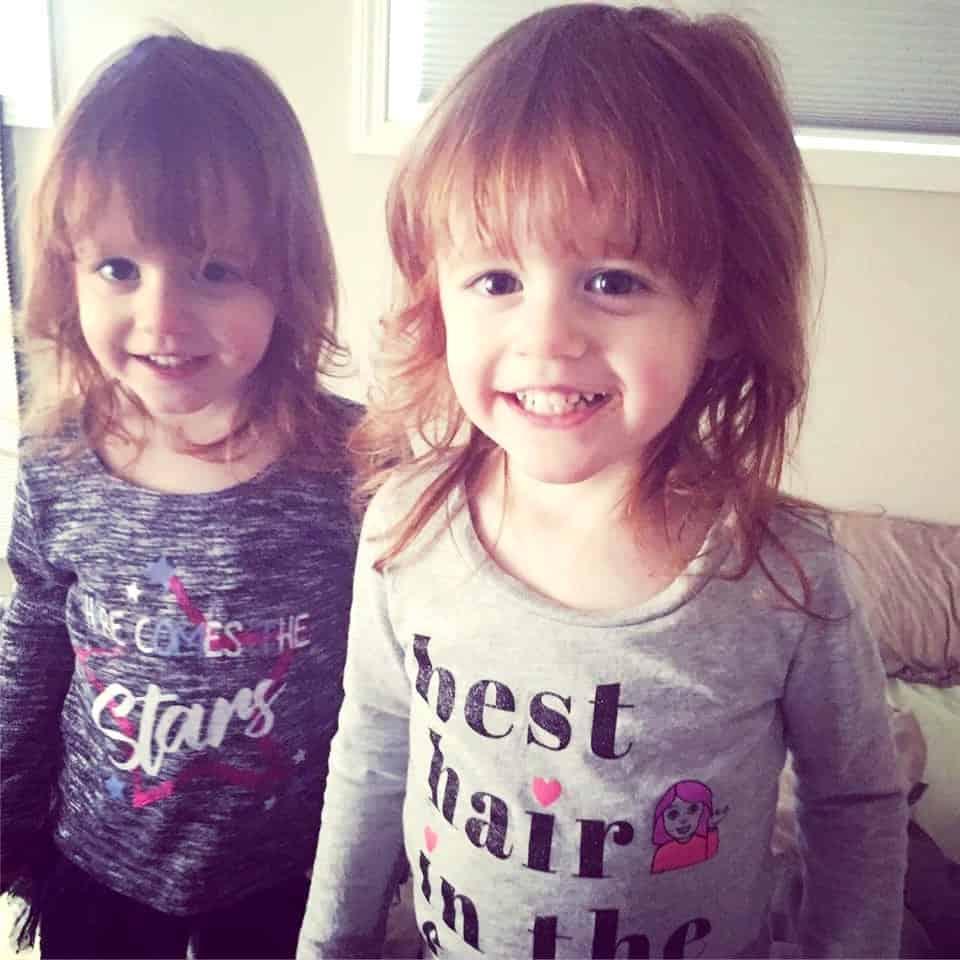 love having twins 2 year old girls