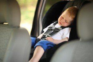 toddler sleeping car safety