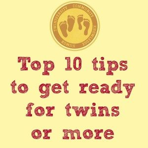 top 10 tips to get redy for twins