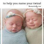 imiona dla bliźniaczek