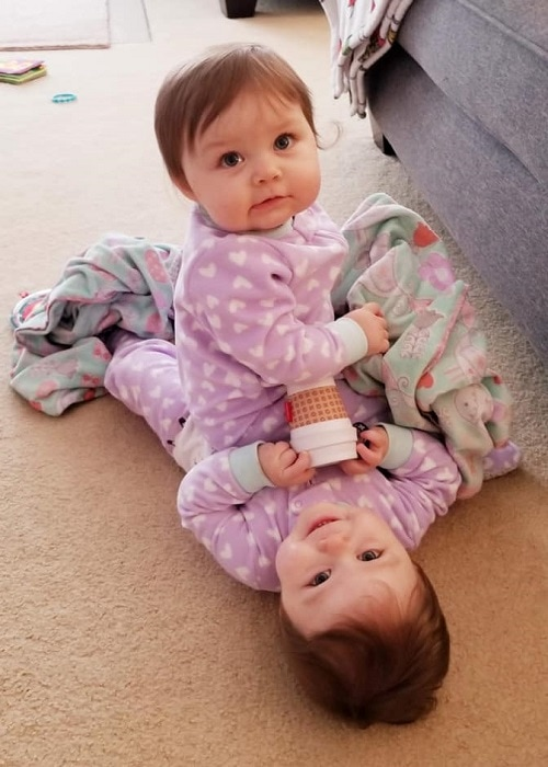 The First Year with Twins 10 Months Old