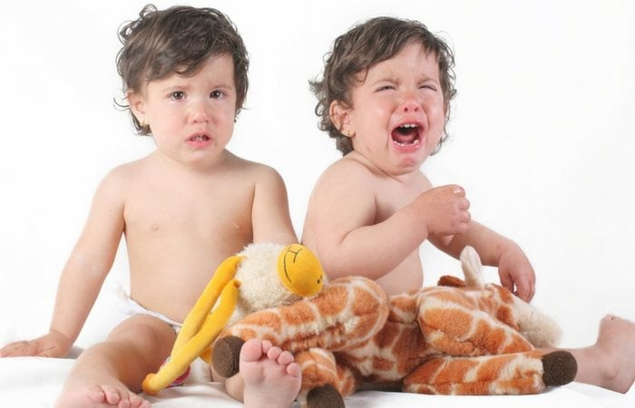 twin toddler tantrums