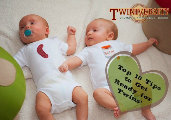 Top 10 Tips to Get Ready for Twins