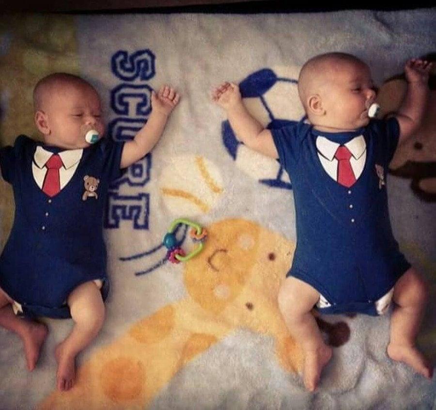 Twins alone