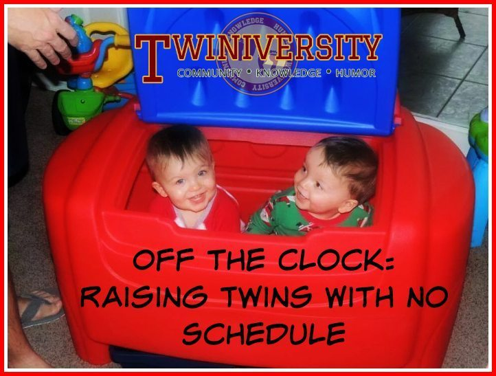 Off the Clock: Raising Twins With No Schedule