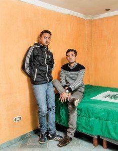 Jorge Enrique Bernal Castro and William Cañas Velasco. Credit Stefan Ruiz for The New York Times