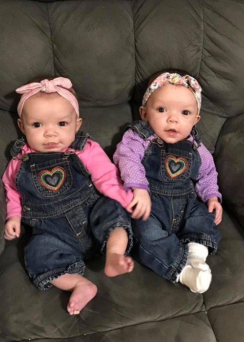 The First Year with Twins 5 Months Old