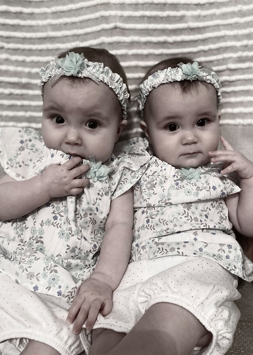 Twins 7 Months Old