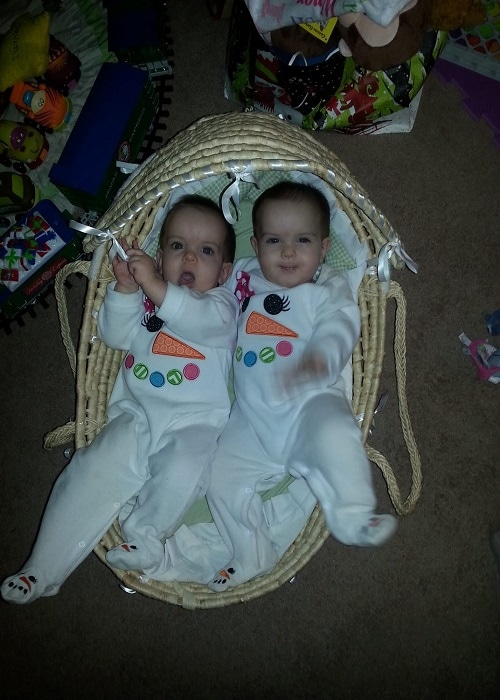 The First Year with Twins 8 Months Old