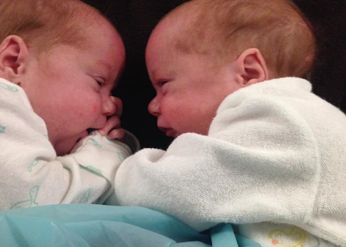 The First Year with Twins Week 9 and 10